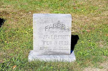 LEGGETT, FABER - Tuscarawas County, Ohio | FABER LEGGETT - Ohio Gravestone Photos