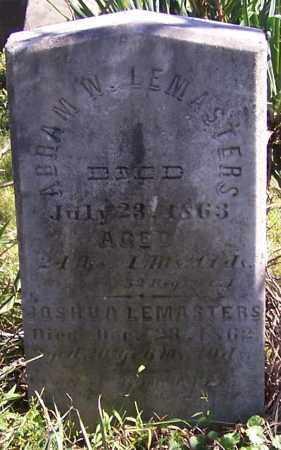 LEMASTERS, JOSHUA - Tuscarawas County, Ohio | JOSHUA LEMASTERS - Ohio Gravestone Photos