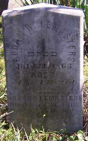 LEMASTERS, ABRAM W. - Tuscarawas County, Ohio | ABRAM W. LEMASTERS - Ohio Gravestone Photos