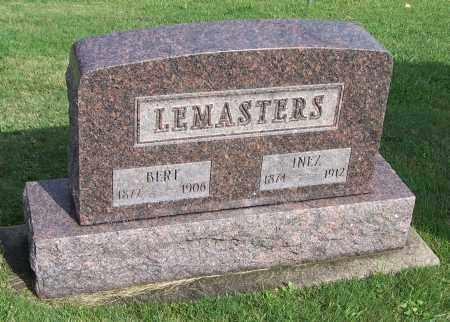 LEMASTERS, INEZ - Tuscarawas County, Ohio | INEZ LEMASTERS - Ohio Gravestone Photos