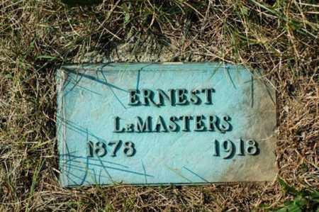 LEMASTERS, ERNEST - Tuscarawas County, Ohio | ERNEST LEMASTERS - Ohio Gravestone Photos