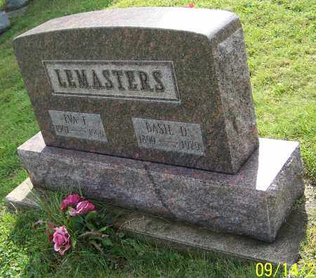 LEMASTERS, EVA F. - Tuscarawas County, Ohio | EVA F. LEMASTERS - Ohio Gravestone Photos