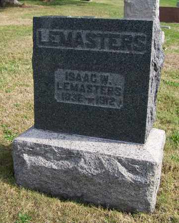 LEMASTERS, ISAAC W. - Tuscarawas County, Ohio | ISAAC W. LEMASTERS - Ohio Gravestone Photos