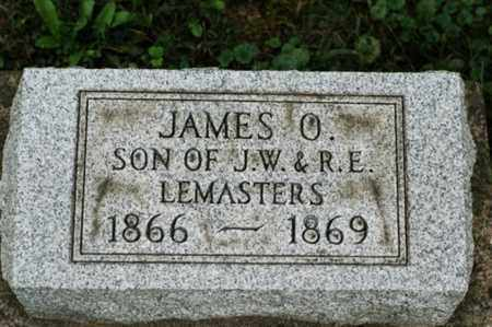LEMASTERS, JAMES O. - Tuscarawas County, Ohio | JAMES O. LEMASTERS - Ohio Gravestone Photos