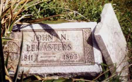 LEMASTERS, JOHN N. - Tuscarawas County, Ohio | JOHN N. LEMASTERS - Ohio Gravestone Photos