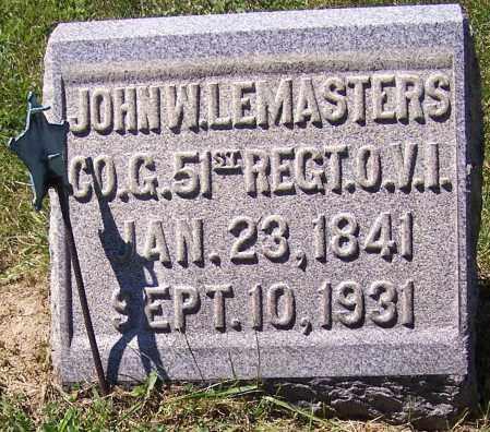 LEMASTERS, JOHN W. - Tuscarawas County, Ohio | JOHN W. LEMASTERS - Ohio Gravestone Photos
