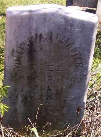 LEMASTERS, WILLIAM - Tuscarawas County, Ohio   WILLIAM LEMASTERS - Ohio Gravestone Photos