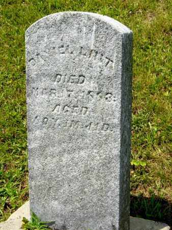LINT, DANIEL - Tuscarawas County, Ohio | DANIEL LINT - Ohio Gravestone Photos