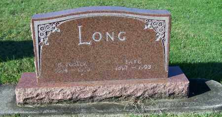 LONG, FAYE - Tuscarawas County, Ohio | FAYE LONG - Ohio Gravestone Photos