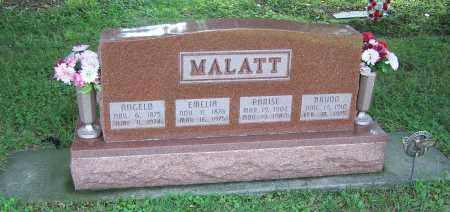 MALATT, ANGELO - Tuscarawas County, Ohio | ANGELO MALATT - Ohio Gravestone Photos