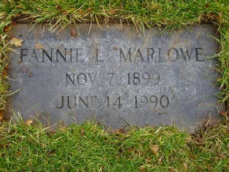 STRATTON MARLOWE, FANNIE L. - Tuscarawas County, Ohio | FANNIE L. STRATTON MARLOWE - Ohio Gravestone Photos