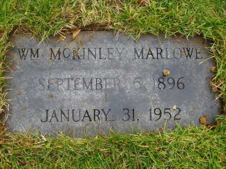 MARLOWE, WM. MCKINLEY - Tuscarawas County, Ohio | WM. MCKINLEY MARLOWE - Ohio Gravestone Photos