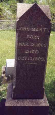 MARTY, JOHN - Tuscarawas County, Ohio | JOHN MARTY - Ohio Gravestone Photos