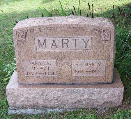 MARTY, SARAH A. - Tuscarawas County, Ohio | SARAH A. MARTY - Ohio Gravestone Photos