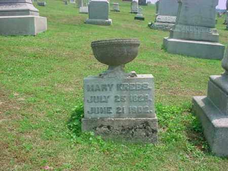 MARY, KREBS - Tuscarawas County, Ohio | KREBS MARY - Ohio Gravestone Photos