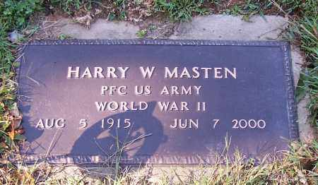 MASTEN, HARRY W.   (MIL) - Tuscarawas County, Ohio | HARRY W.   (MIL) MASTEN - Ohio Gravestone Photos