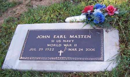 MASTEN, JOHN EARL   (MIL) - Tuscarawas County, Ohio | JOHN EARL   (MIL) MASTEN - Ohio Gravestone Photos