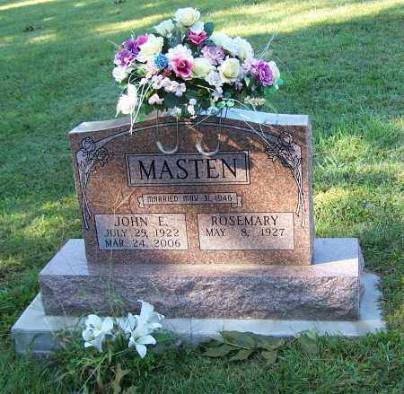 MASTEN, ROSEMARY - Tuscarawas County, Ohio | ROSEMARY MASTEN - Ohio Gravestone Photos