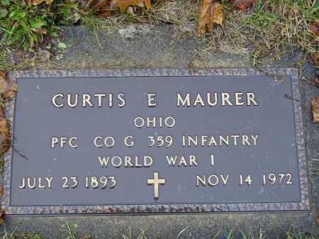 MAURER, CURTIS E. - Tuscarawas County, Ohio | CURTIS E. MAURER - Ohio Gravestone Photos