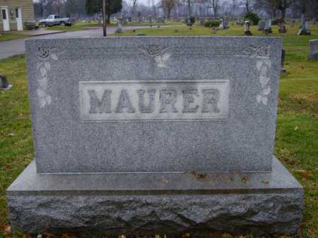 MAURER FAMILY, MONUMENT #2 - Tuscarawas County, Ohio | MONUMENT #2 MAURER FAMILY - Ohio Gravestone Photos