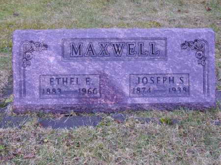 MAXWELL, ETHEL E. - Tuscarawas County, Ohio | ETHEL E. MAXWELL - Ohio Gravestone Photos