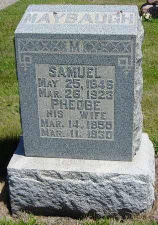 MAYBAUGH, SAMUEL - Tuscarawas County, Ohio | SAMUEL MAYBAUGH - Ohio Gravestone Photos