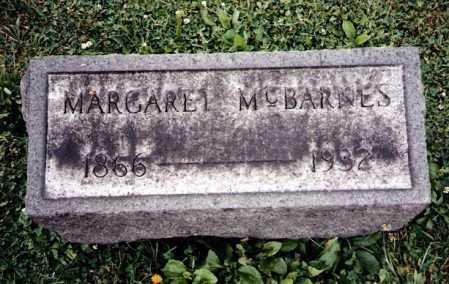 MCBARNES, MARGARET - Tuscarawas County, Ohio | MARGARET MCBARNES - Ohio Gravestone Photos