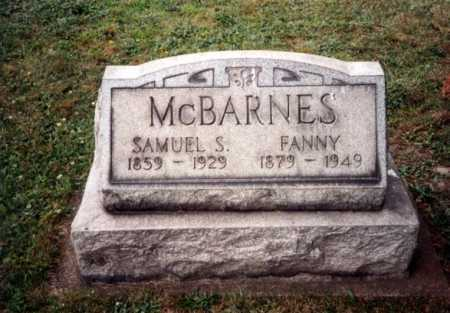 SPRY FANNY, MCBARNES - Tuscarawas County, Ohio | MCBARNES SPRY FANNY - Ohio Gravestone Photos
