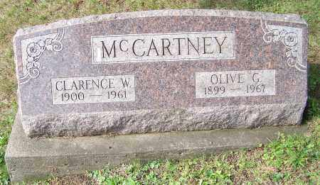 MCCARTNEY, OLIVE G. - Tuscarawas County, Ohio | OLIVE G. MCCARTNEY - Ohio Gravestone Photos