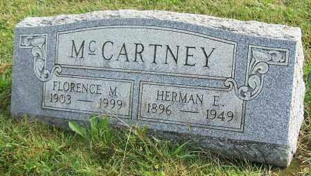 MCCARTNEY, FLORENCE M. - Tuscarawas County, Ohio | FLORENCE M. MCCARTNEY - Ohio Gravestone Photos