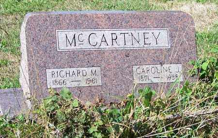 MCCARTNEY, RICHARD M. - Tuscarawas County, Ohio | RICHARD M. MCCARTNEY - Ohio Gravestone Photos