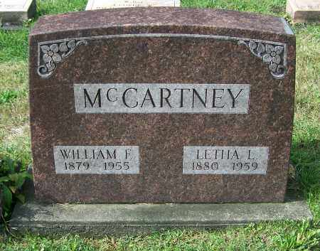MCCARTNEY, LETHA L. - Tuscarawas County, Ohio | LETHA L. MCCARTNEY - Ohio Gravestone Photos