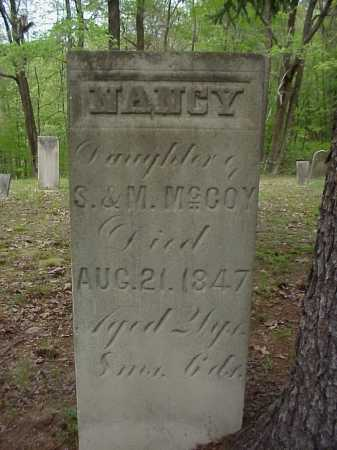 MCCOY, NANCY - Tuscarawas County, Ohio | NANCY MCCOY - Ohio Gravestone Photos