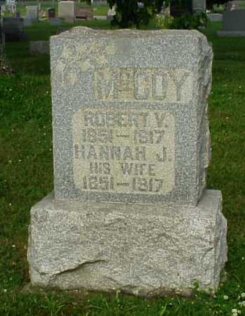 MEEK MCCOY, HANNAH JANE - Tuscarawas County, Ohio | HANNAH JANE MEEK MCCOY - Ohio Gravestone Photos