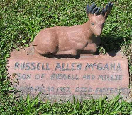 MCGAHA, RUSSELL ALLEN - Tuscarawas County, Ohio | RUSSELL ALLEN MCGAHA - Ohio Gravestone Photos