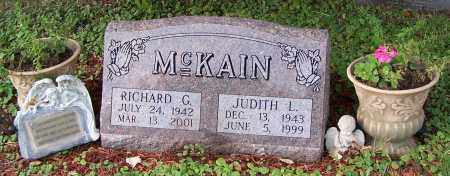 MCKAIN, RICHARD G. - Tuscarawas County, Ohio | RICHARD G. MCKAIN - Ohio Gravestone Photos