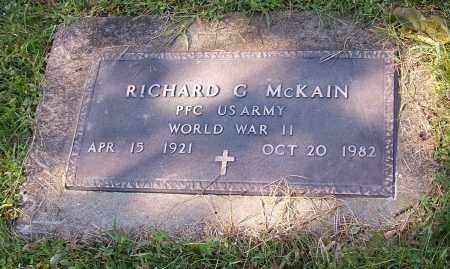 MCKAIN, RICHARD G.  (MIL) - Tuscarawas County, Ohio | RICHARD G.  (MIL) MCKAIN - Ohio Gravestone Photos