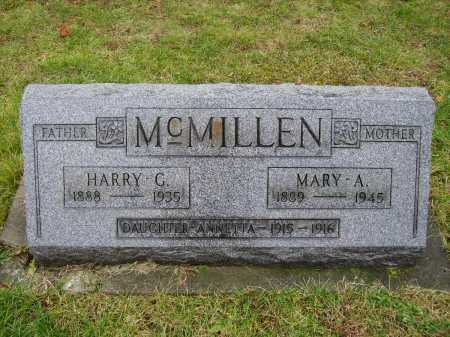 FRANCIS MCMILLEN, MARY A. - Tuscarawas County, Ohio | MARY A. FRANCIS MCMILLEN - Ohio Gravestone Photos