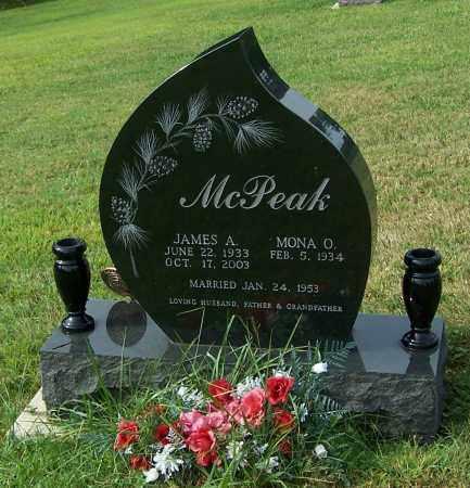 MCPEAK, MONA O. - Tuscarawas County, Ohio | MONA O. MCPEAK - Ohio Gravestone Photos