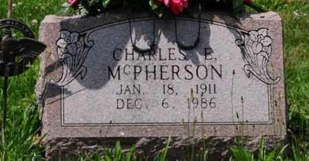 MCPHERSON, CHARLES E. - Tuscarawas County, Ohio | CHARLES E. MCPHERSON - Ohio Gravestone Photos