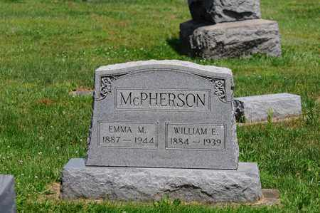MCPHERSON, WILLIAM E. - Tuscarawas County, Ohio | WILLIAM E. MCPHERSON - Ohio Gravestone Photos