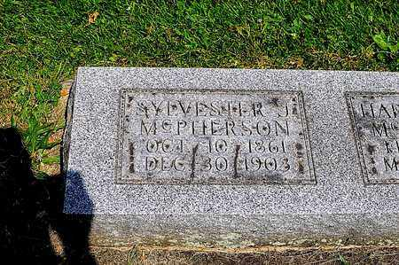 MCPHERSON, SYLVESTER J. - Tuscarawas County, Ohio | SYLVESTER J. MCPHERSON - Ohio Gravestone Photos