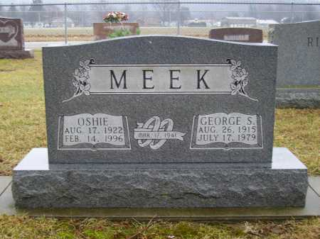 MEEK, GEORGE - Tuscarawas County, Ohio | GEORGE MEEK - Ohio Gravestone Photos