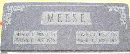 CROUSE MEESE, EVELYN L. - Tuscarawas County, Ohio | EVELYN L. CROUSE MEESE - Ohio Gravestone Photos