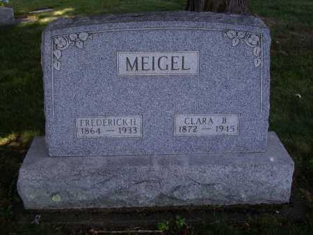 MEIGEL, FREDERICK H. - Tuscarawas County, Ohio | FREDERICK H. MEIGEL - Ohio Gravestone Photos