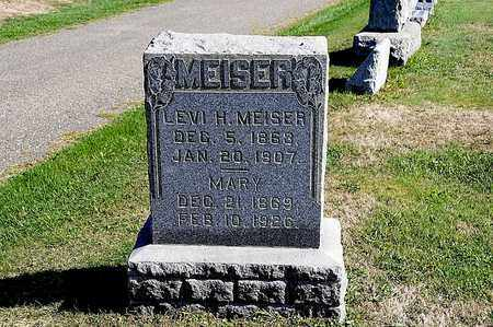 MEISER, MARY - Tuscarawas County, Ohio | MARY MEISER - Ohio Gravestone Photos