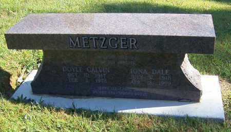 METZGER, IONA DALE - Tuscarawas County, Ohio | IONA DALE METZGER - Ohio Gravestone Photos