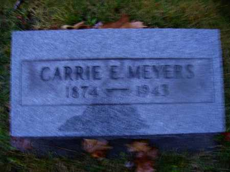 MEYERS, CARRIE - Tuscarawas County, Ohio | CARRIE MEYERS - Ohio Gravestone Photos