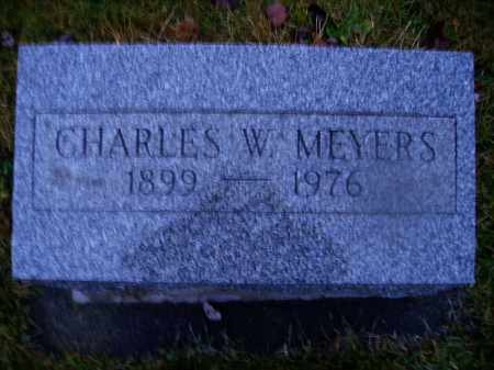 MEYERS, CHARLES W. - Tuscarawas County, Ohio | CHARLES W. MEYERS - Ohio Gravestone Photos