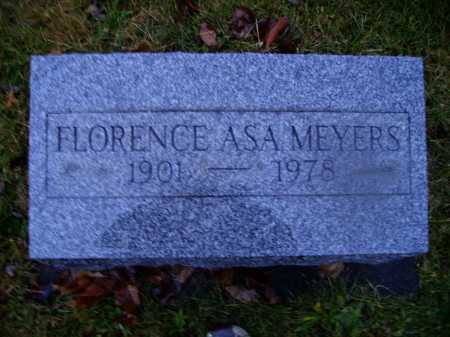 MEYERS, FLORENCE - Tuscarawas County, Ohio | FLORENCE MEYERS - Ohio Gravestone Photos